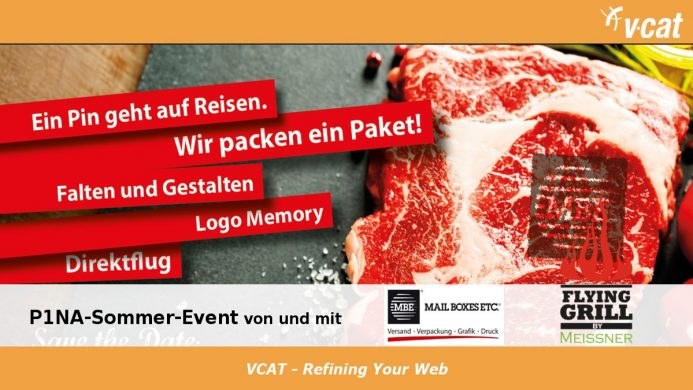 P1NA-Sommer-Event mit Business Olympiade und Flying Grill
