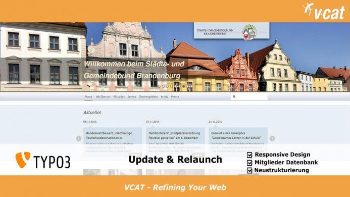 TYPO3-Update und Relaunch für die Website des Städte- und Gemeindebundes