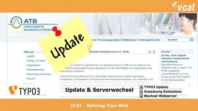 TYPO3-Update für das Potsdamer Leibniz-Institut
