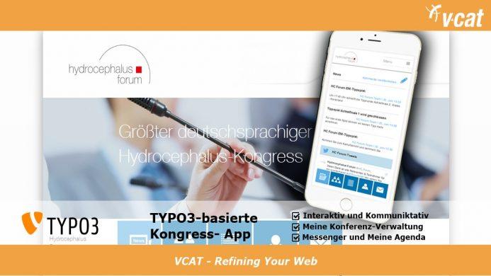 Mobile Webseite in TYPO3 unterstützt Kongress-Interaktion