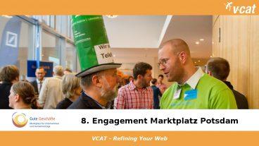 VCAT beim Marktplatz für Gute Geschäfte