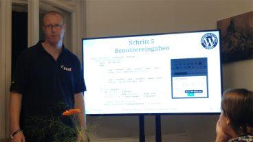 """Rückblick auf das WordPress Meetup Potsdam mit Vortrag """"Plugin-Entwicklung für den TinyMCE"""""""