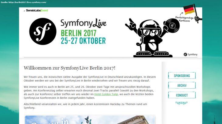 Review Symfony Live 2017