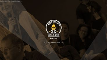 WordCamp Cologne 2017