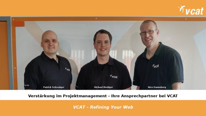 Als Projektmanager bei VCAT Consulting