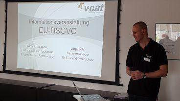 Datenschutz kompakt – Rückblick auf die Informationsveranstaltung zur EU-DSGVO