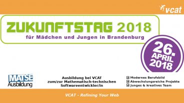 Girls-Day bei VCAT 2018