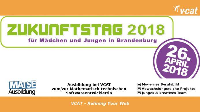 Der Beruf MaTSE wird am 26. April auf dem Zukunftstag in Potsdam vorgestellt