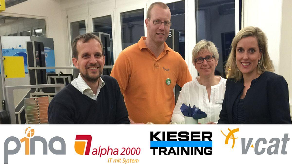 P1NA-Treffen bei alpha 2000 und Kieser Training