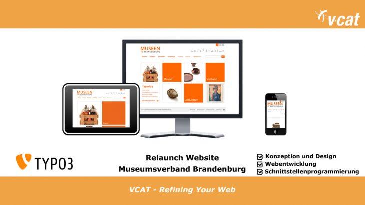 TYPO3 Relaunch Museumsverband Brandenburg