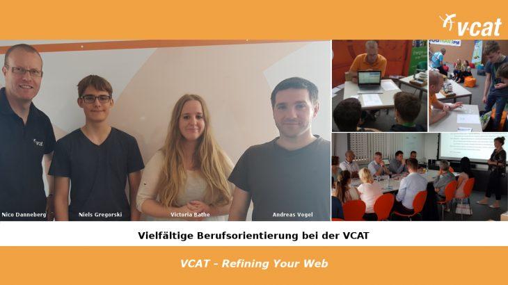 Berufsorientierung im Juni 2018 bei der VCAT Consulting
