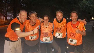 VCAT Team bei 17. Potsdamer AOK-Halbmarathonstaffel