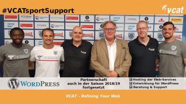 VCAT verlängert Engagement beim SV Babelsberg 03