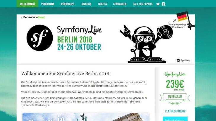 SymfonyLive 2018