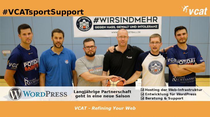 USV Potsdam Basketball & VCAT gehen gemeinsam in die 11. Saison