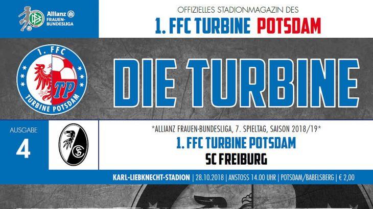 1. FFC Turbine Potsdam - Stadionheft #4 gegen SC_Freiburg