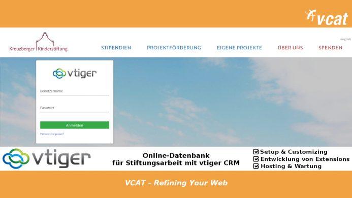 Online-Datenbank für die Kreuzberger Kinderstiftung