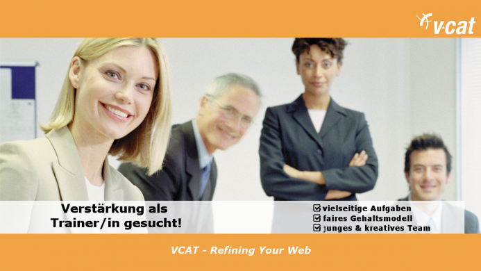 VCAT sucht Trainer für technische Prozesse