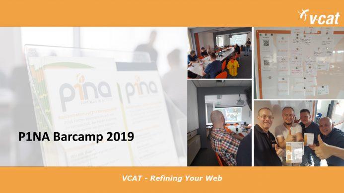 Das war unser P1NA-Barcamp 2019