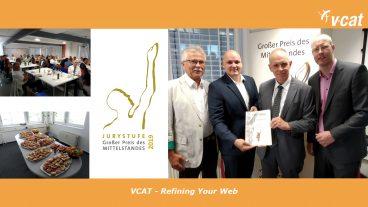 Urkundenübergabe der Juryliste bei VCAT