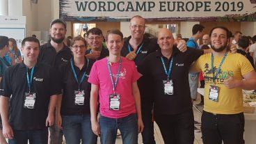 VCAT auf dem WordCamp Europe 2019