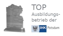 VCAT wurde von der IHK Potsdam als TOP Ausbildungsbetrieb ausgezeichnet