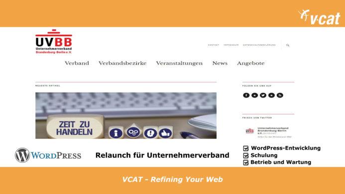 Unternehmerverband mit neuer Webseite