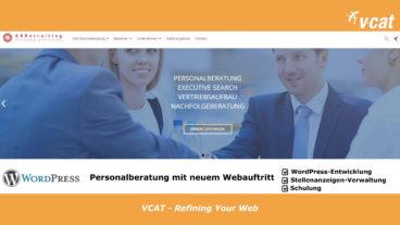 Neuer WordPress-Auftritt für Personalberatung