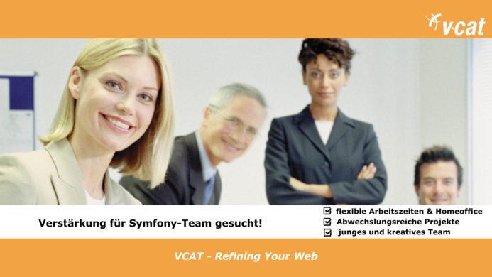 VCAT sucht Verstärkung in der Symfony-Entwicklung